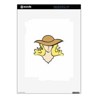 FASHIONABLE WOMAN iPad 2 SKIN