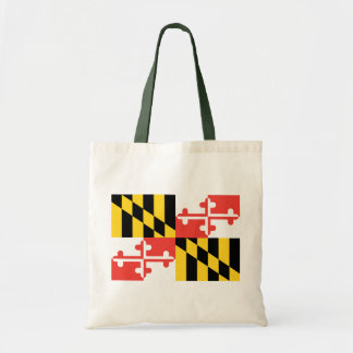Fashionably Green Maryland State Flag Bag