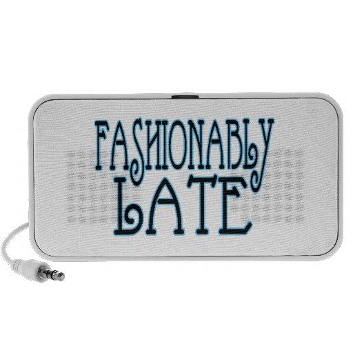 Fashionably Late Worth The Wait Mini Speakers