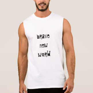 FASHIONABLY LITERARY  Brave New World  muscle tee