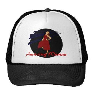 Fashiongirl en rojo gorras