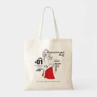 Fashionista #2 tote bag
