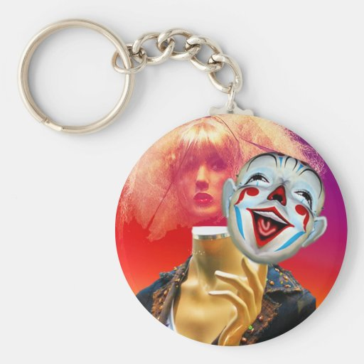 FASHIONISTA AND THE DEATH OF REAL WOMEN.jpg Keychain