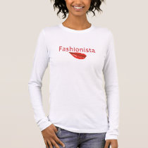 Fashionista Back-to-School Long Sleeve Shirt