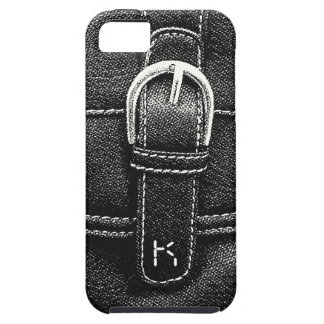 Fashionista Black & White Purse Buckle iPhone SE/5/5s Case