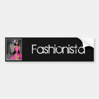 Fashionista Bumper Stickers