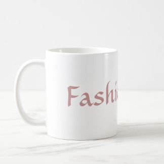 Fashionista Coffee Mug
