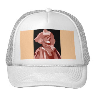 Fashionista de la diva en neutral gorra