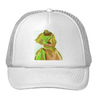 Fashionista de la diva en primavera gorras de camionero