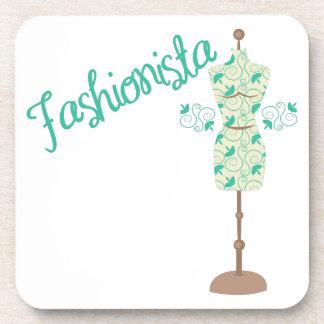Fashionista Drink Coaster