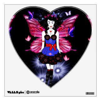 Fashionista Fairy Wall Decal