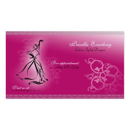 Fashionista Fashion Stylist/Designer Business Card | Zazzle: www.zazzle.com/fashionista_fashion_stylist_designer_business_card...