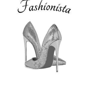 Fashionista High Heel Shoes Shower Curtain