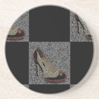 Fashionista High Heels Beverage Coasters