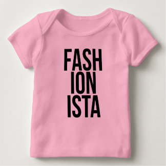 Fashionista Long Sleeve Baby T-Shirt
