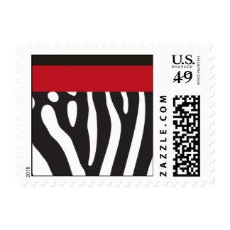 Fashionista Postage Stamp