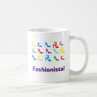 """Fashionista"" Shoes Mug"