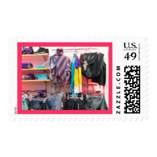 Fashionista Shoppe Postage Stamp