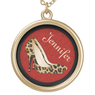 Fashionista Stiletto Custom Necklace