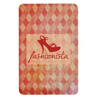 Fashionista Vintage Pattern Magnet