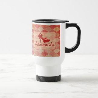 Fashionista Vintage Pattern Coffee Mug
