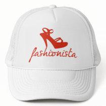 Fashionista Vintage Pattern Trucker Hat
