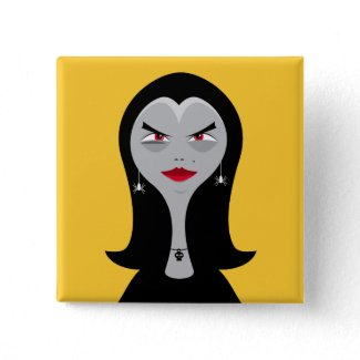 Fashionista Witch button