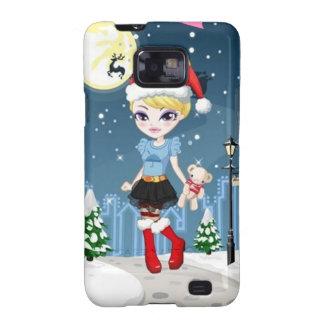 Fashionista xmas1 Samsung Samsung Galaxy S2 Case
