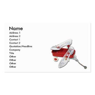 FashionMove, Name, Address 1, Address 2, Contac... Business Card Templates