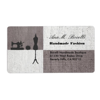 Fashions Clothing Handmade Sewing Craft  Business Label