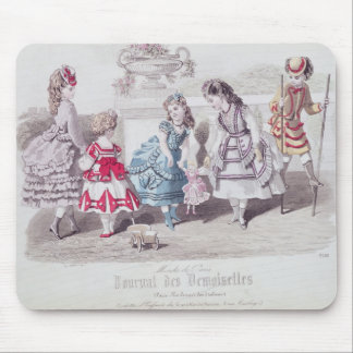 Fashions for Girls, from 'Journal des Mouse Pad