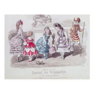 Fashions for Girls, from 'Journal des Postcard