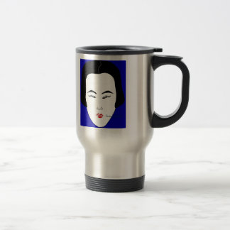 Fashions High End Daily Oblong Face Shape 15 Oz Stainless Steel Travel Mug