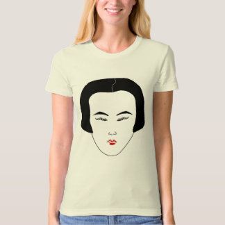 Fashions High End Oblong Shape Face White I T-Shirt