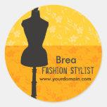 Fashions Stylist Seamstress Sticker