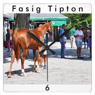 Fasig Tipton 16' Square Wall Clock