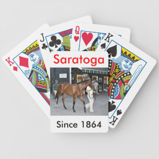 Fasig Tipton Select Sales at Saratoga Bicycle Playing Cards