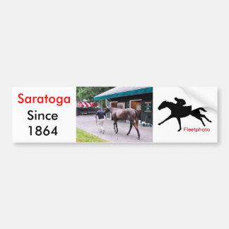 Fasig Tipton Select Sales at Saratoga Car Bumper Sticker