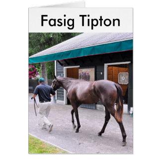 Fasig Tipton Select Sales at Saratoga Greeting Cards