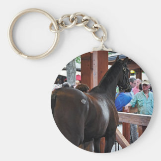 Fasig Tipton Select Sales Basic Round Button Keychain
