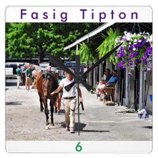 Fasig Tipton Select Sales Square Wall Clock