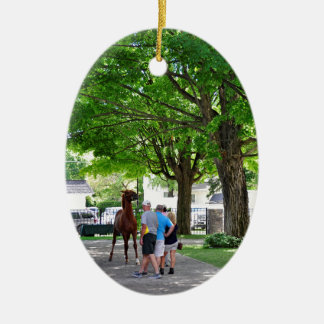 Fasig Tipton Yearling Sales Ceramic Ornament