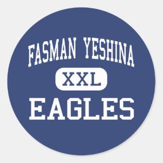 Fasman Yeshina - Eagles - High - Skokie Illinois Classic Round Sticker