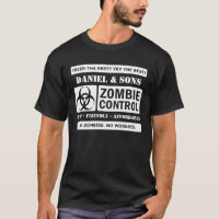 Fast Affordable Zombie Control T-Shirt