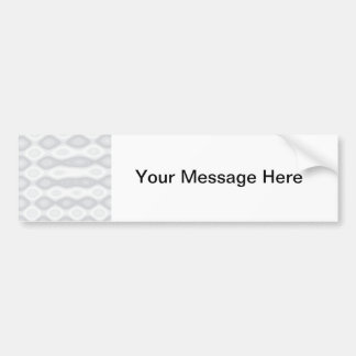 Fast and Easy Blank Template Car Bumper Sticker