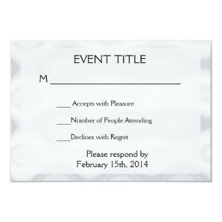 Fast and Easy Blank Template Card