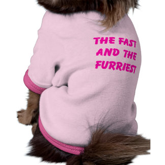 Fast and Furriest Dog Tee