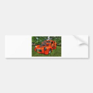 Fast and Sleek Bumper Sticker