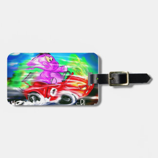 Fast and the Elephant Bag Tag