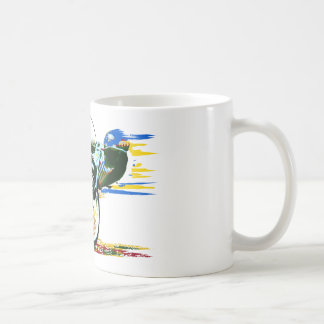 Fast Awesome Speedway Motorcycle Coffee Mug